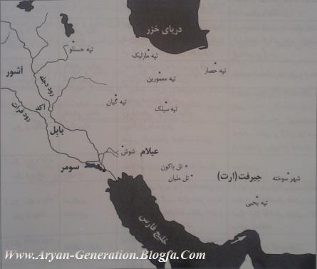 مهمتریت محوطه های باستانی ایران و بین النهرین عراق